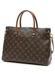 Louis Vuitton Monogram Canvas Noir Pallas Bag 9bfe216aa4824