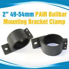 These black pair bullbar mounting bracket clamps are made from the highest quality material, suitable for LED bars and other auxilliary lights. Led Light Bar Mounts, The Black Keys, Led Light Bars, Entertainment System, Mounting Brackets, Bar Lighting, Clamp, Pairs, Belt