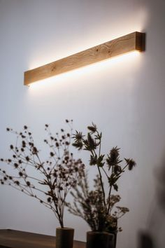 Ambient wall light - SLIMPEACE Home Decor Lights, Home Lighting, Lighting Design, Handmade Home Decor, Ambient Light, House Design, Rustic, Decoration, Etsy