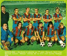 EQUIPOS DE FÚTBOL: BARCELONA 1973-74