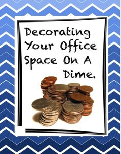 The Middle School Counselor: Decorating Your Office On A Dime