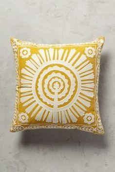 Anthropologie Full Sun Pillow