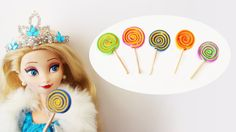 How to make doll lollipops