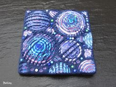 FIMO 50 World project tile from Janine Müller, Switzerland