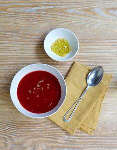 Soupe de betterave au citron confit pour 4 personnes - Recettes Elle à Table