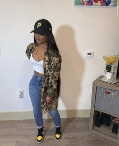 Discover ideas about Casual Summer Outfits Â« Matchesfashions Tomboy Outfits, Chill Outfits, Teen Fashion Outfits, Teenager Outfits, Dope Outfits, Casual Summer Outfits, Pretty Outfits, Outfits For Black Girls, Black Girl Shirts
