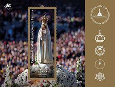 """Em 2013, o Papa Francisco afirmou: """"É Maria que nos leva sempre a Jesus"""". A 13 de maio de 2017, o Bispo de Roma marca presença na Cova da Iria, uma visita assinalada pela emissão """"Visita de Sua Santidade Papa Francisco""""."""
