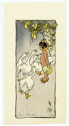 Specializing in fine Century Japanese Woodblock Prints: Hyde, Helen - Japanese Prints, Japanese Art, Oriental Print, Geisha Art, Arthur Rackham, Dutch Painters, Human Connection, Children's Book Illustration, Woodblock Print