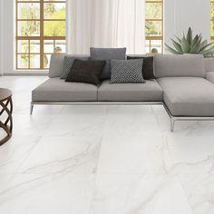 Oporto Carrara Glazed Porcelain Floor Tile