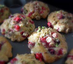 Cranberry, Orange & Pistachio Muffins
