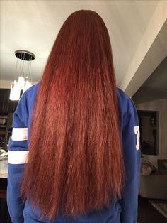 Long Red Hair, Thick Hair, Straight Hairstyles, Braided Hairstyles, Red Hair Color, Beautiful Long Hair, Scissors, Redheads, Braids