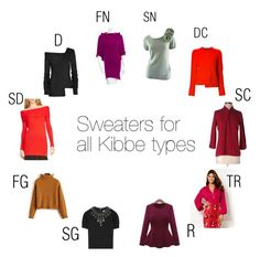 Sweaters for every Kibbe type by ithinklikeme on Polyvore featuring polyvore, fashion, style, New York & Company, Halston Heritage, Nordstrom, Proenza Schouler, Alice + Olivia, Brunello Cucinelli, ESCADA, women's clothing, women's fashion, women, female, woman, misses, juniors and KibbeTypes