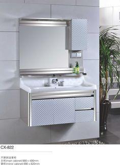 inexpensive bathroom vanitiesrecessed bathroom cabinetsmall sink vanity | modern stainless steel bathroom cabinet | Pinterest | Bathroom cabinets ... & inexpensive bathroom vanitiesrecessed bathroom cabinetsmall sink ...