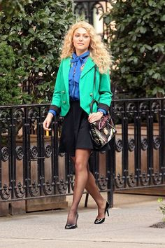 Check Out the First 3 Outfits from the Set of The Carrie Diaries: Dressed