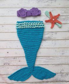 Baby Mermaid Outfit Mermaid Outfit für von OohSoChicBoutique