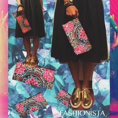 DON'T FOLLOW THE UNIVERSE  MAKE THE UNIVERSE FOLLOW YOU  #baiga #fashion #style #bags #clutch #universe  SOBRE ALLEGRa