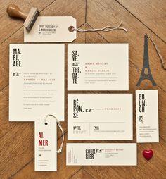 Mister M Studio - Faire part de mariage - La mariee aux pieds nus