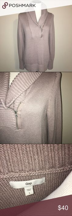 Taupe Knit Sweater More details coming soon GAP Sweaters Crew & Scoop Necks
