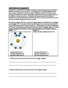 Nova Hunting The Elements Video Worksheet Video Worksheets