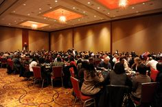 Ballroom luncheon. Great venue in Atlanta, GA for meetings, events, and conventions.