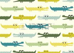 Illustration of seamless crocodile cartoon pattern vector art, clipart and stock vectors. White And Gold Wallpaper, Navy Wallpaper, Classic Wallpaper, Orange Wallpaper, Pattern Wallpaper, Room Wallpaper Designs, Art Deco Wallpaper, Graffiti Wallpaper, Stick On Wallpaper