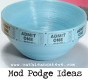 A bunch of easy & clever Mod Podge ideas for the house and gifts.  Cathy and Steve used to have an HGTV show and have great ideas! - Click image to find more diy & crafts Pinterest pins