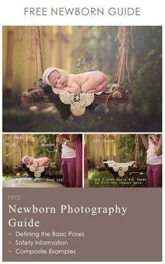 FREE Newborn Guide from THE BEST newborn photography forum and resource! This guide is constantly updated and includes content from Stephanie Robin, Brittany Woodall, Cris Passos, & more! Please re-pin to support this free guide if you'd like to see even more content added... #NewbornPhotography