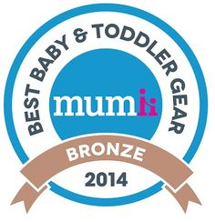 Best Baby & Toddler Gear Awards 2014, Best group 0+ category, Privia was awarded Bronze.