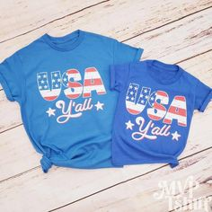 Funny Couple Shirts, Family Shirts, Fourth Of July Shirts, 4th Of July, Matching Shirts, Matching Outfits, Couple Pajamas, Royal Blue Color, Couple Outfits