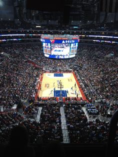 Sweet view at Staples Center from one of our Clippers Deals!