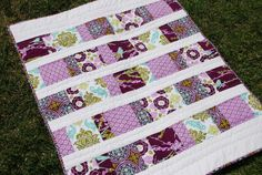 Bird Baby Quilt Joel Dewberry Aviary 2 by LittleBugHouse on Etsy, $120.00