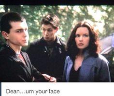 Lol haha funny pics / pictures / Supernatural / Season 1 / Dean