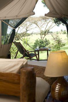 Kicheche Mara Camp is a classic tented camp hidden in a beautiful acacia valley overlooking the Olare Orok stream.  #Nairobi #Kenya #safari
