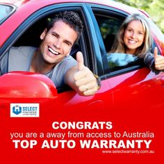 Congrats – You are a away from access to Australia top auto warranty. http://www.selectwarranty.com.au/