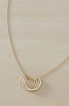 Small Honey Petals Necklace