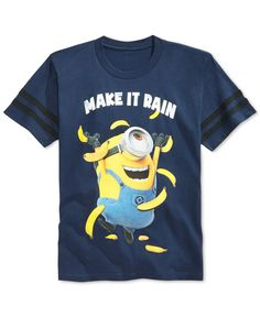 Despicable Me Boys' Minion Make It Rain T-Shirt