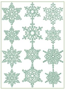 Free Embroidery Designs: Celtic Snowflakes - I Sew Free