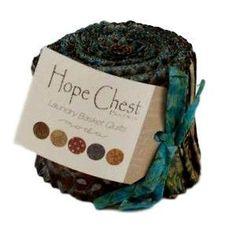 """Hope Chest Batiks 2½"""" Junior Jelly Roll"""