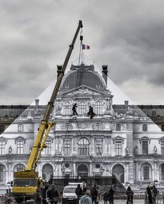 The Louvre's Glass Pyramid, Gone! | The Creators Project
