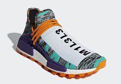 detailed look afa8c e48ef Pharrell adidas NMD Hu Solar Pack Release Date   SneakerNews.com Adidas  Nmd, Adidas