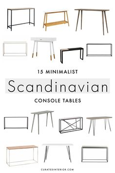 Home Decor Diy Scandinavian console tables are great minimalist pieces of furnit. Home Decor Diy S Minimalist Scandinavian, Scandinavian Interior Design, Scandinavian Home, Indian Home Decor, E Design, Cheap Home Decor, Home Decor Inspiration, Decoration, Dekorasyon