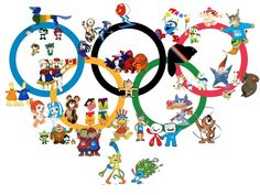 Since the first mascot in Olympics history made its appearance at the 1972 Munich Olympic Games, Mascots have become an important element of the Olympics. 2020 Summer Olympics, Tokyo Olympics, Winter Olympics, Olympic Mascots, Olympic Games, Olympic Crafts, School Clipart, Mascot Design, Tokyo 2020