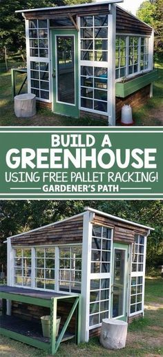 Here is a bunch of solid reasons why your yard could use the addition of a greenhouse, with 15 inexpensive pallet greenhouse plans  designs to choose from.