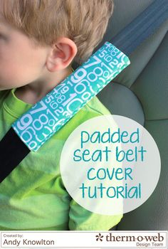 Our family is looking forward to a couple of road trips this Summer and in order to keep everyone comfortable for thoselong hours in the car, I've sewn up a couple of seat belt covers with HeatnBond® Fusible Fleece for my kiddos. These were fast and easy to whip up and I thought I'd share …Read more...