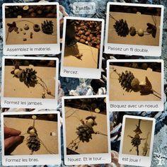 handmade natural Christmas decorations