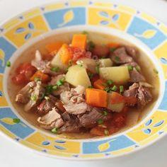 Slow Cooker Filipino Picadillo Soup