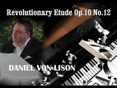 Daniel von Lison - Revolutionary Etude in C Minor ( Chopin )