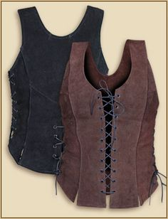 Awesome leather corset