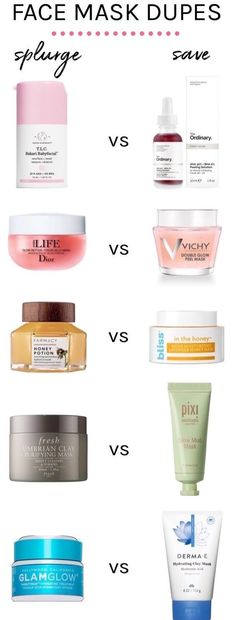 10 High-End Face Mask Dupes You (And Your Wallet) Will Love! Face mask dupes you NEED to know about! These affordable alternatives for 10 high-end face masks will pamper and perfect your skin without costing a fortune! Maquillage Normal, Beauty Hacks For Teens, Skincare Dupes, Skincare Routine, Eyeshadow Dupes, Skincare Packaging, Lipstick Dupes, Image Skincare, Purifying Mask