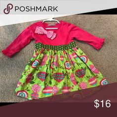 Jelly the Pug Christmas dress Worn once! Super cute! Jelly the Pug Dresses Casual